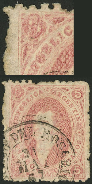 Lot 39 - Argentina rivadavias -  Guillermo Jalil - Philatino Auction # 2123 ARGENTINA: Special July auction!