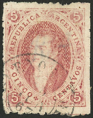 Lot 37 - Argentina rivadavias -  Guillermo Jalil - Philatino Auction # 2123 ARGENTINA: Special July auction!