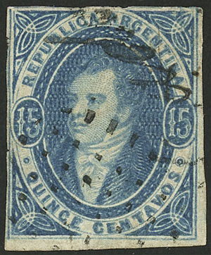 Lot 41 - Argentina rivadavias -  Guillermo Jalil - Philatino Auction # 2123 ARGENTINA: Special July auction!