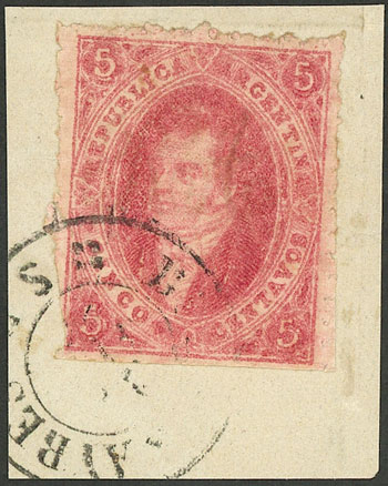Lot 54 - Argentina rivadavias -  Guillermo Jalil - Philatino Auction # 2124 ARGENTINA: very attractive auction