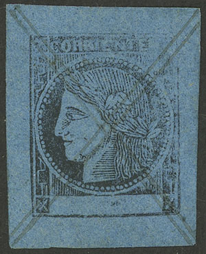 Lot 13 - Argentina corrientes -  Guillermo Jalil - Philatino Auction # 2124 ARGENTINA: very attractive auction