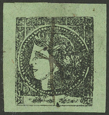 Lot 14 - Argentina corrientes -  Guillermo Jalil - Philatino Auction # 2124 ARGENTINA: very attractive auction