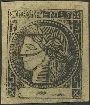 Lot 16 - Argentina corrientes -  Guillermo Jalil - Philatino Auction # 2124 ARGENTINA: very attractive auction