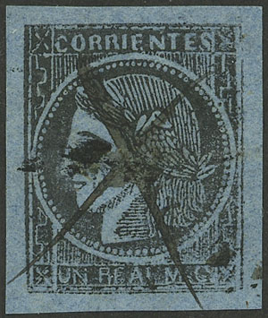 Lot 12 - Argentina corrientes -  Guillermo Jalil - Philatino Auction # 2124 ARGENTINA: very attractive auction