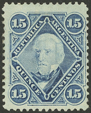 Lot 11 - Argentina general issues -  Guillermo Jalil - Philatino Auction # 2126 ARGENTINA: July sell-off auction: 120 lots with VERY LOW STARTS