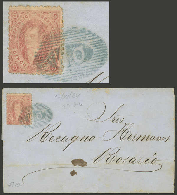 Lot 6 - Argentina rivadavias -  Guillermo Jalil - Philatino Auction # 2126 ARGENTINA: July sell-off auction: 120 lots with VERY LOW STARTS