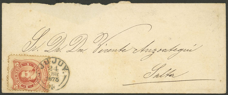 Lot 10 - Argentina general issues -  Guillermo Jalil - Philatino Auction # 2126 ARGENTINA: July sell-off auction: 120 lots with VERY LOW STARTS
