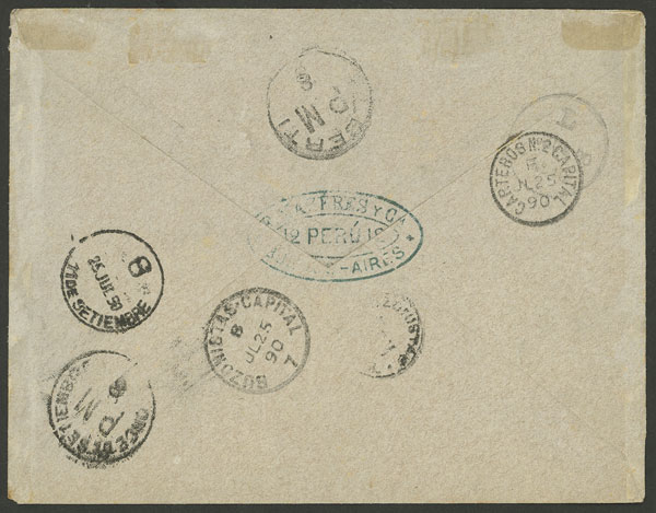 Lot 24 - Argentina general issues -  Guillermo Jalil - Philatino Auction # 2126 ARGENTINA: July sell-off auction: 120 lots with VERY LOW STARTS