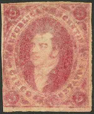 Lot 9 - Argentina rivadavias -  Guillermo Jalil - Philatino Auction # 2126 ARGENTINA: July sell-off auction: 120 lots with VERY LOW STARTS