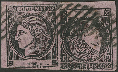 Lot 2 - Argentina corrientes -  Guillermo Jalil - Philatino Auction # 2126 ARGENTINA: July sell-off auction: 120 lots with VERY LOW STARTS