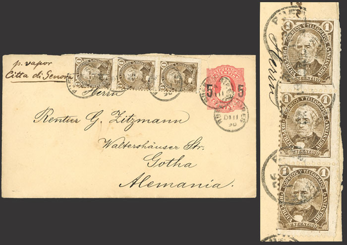 Lot 15 - Argentina general issues -  Guillermo Jalil - Philatino Auction # 2126 ARGENTINA: July sell-off auction: 120 lots with VERY LOW STARTS