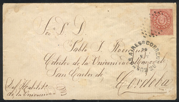Lot 49 - Argentina escuditos -  Guillermo Jalil - Philatino Auction # 2127 ARGENTINA. Small auction of late July