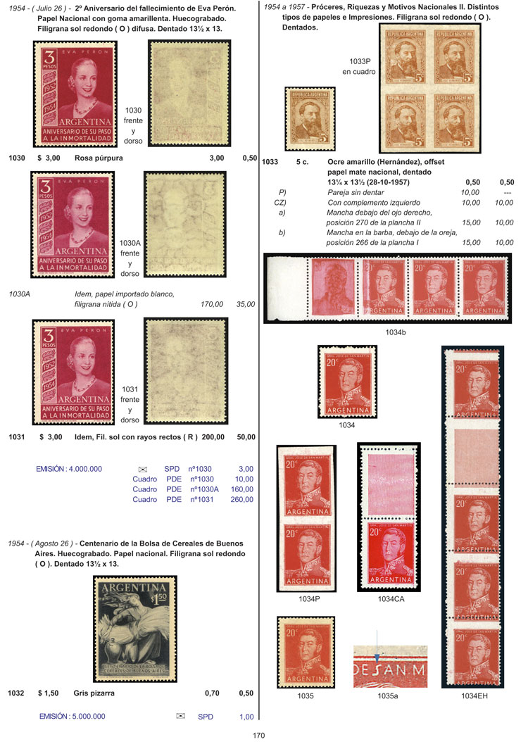 Lot 1 - Argentina books -  Guillermo Jalil - Philatino Auction # 2127 ARGENTINA. Small auction of late July