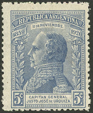 Lot 127 - Argentina general issues -  Guillermo Jalil - Philatino Auction # 2127 ARGENTINA. Small auction of late July