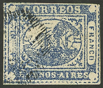 Lot 2 - Argentina barquitos -  Guillermo Jalil - Philatino Auction # 2127 ARGENTINA. Small auction of late July