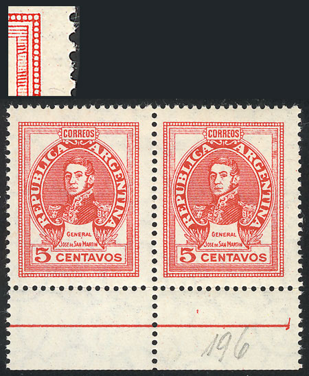 Lot 815 - Argentina general issues -  Guillermo Jalil - Philatino Auction # 2128 ARGENTINA: 'Clearance' auction with very low starts and many interesting lots!