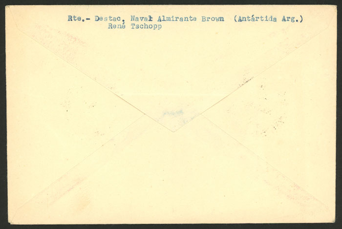 Lot 10 - argentina antarctica postal history -  Guillermo Jalil - Philatino Auction # 2128 ARGENTINA: 'Clearance' auction with very low starts and many interesting lots!