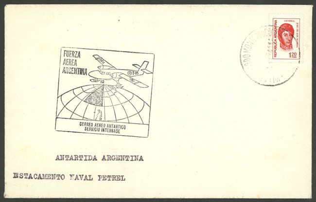 Lot 42 - argentine antarctica postal history -  Guillermo Jalil - Philatino Auction # 2128 ARGENTINA: 'Clearance' auction with very low starts and many interesting lots!