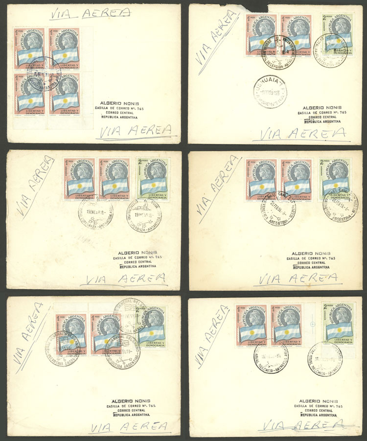 Lot 11 - argentine antarctica postal history -  Guillermo Jalil - Philatino Auction # 2128 ARGENTINA: 'Clearance' auction with very low starts and many interesting lots!