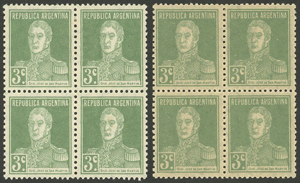Lot 501 - Argentina general issues -  Guillermo Jalil - Philatino Auction # 2128 ARGENTINA: 'Clearance' auction with very low starts and many interesting lots!