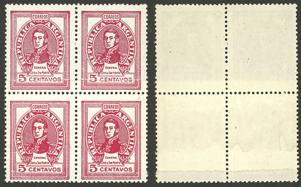 Lot 848 - Argentina general issues -  Guillermo Jalil - Philatino Auction # 2128 ARGENTINA: 'Clearance' auction with very low starts and many interesting lots!