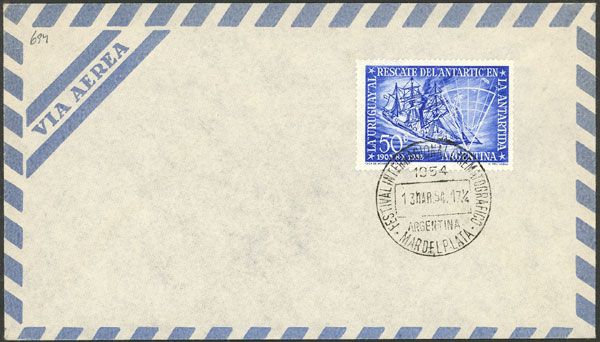 Lot 2123 - Argentina postal history -  Guillermo Jalil - Philatino Auction # 2128 ARGENTINA: 'Clearance' auction with very low starts and many interesting lots!