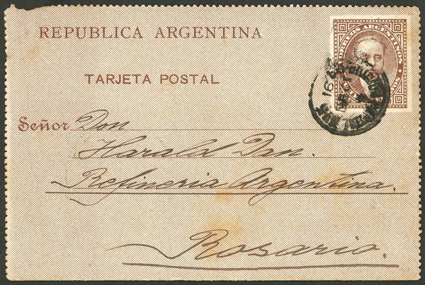 Lot 1988 - Argentina Postal stationery -  Guillermo Jalil - Philatino Auction # 2128 ARGENTINA: 'Clearance' auction with very low starts and many interesting lots!