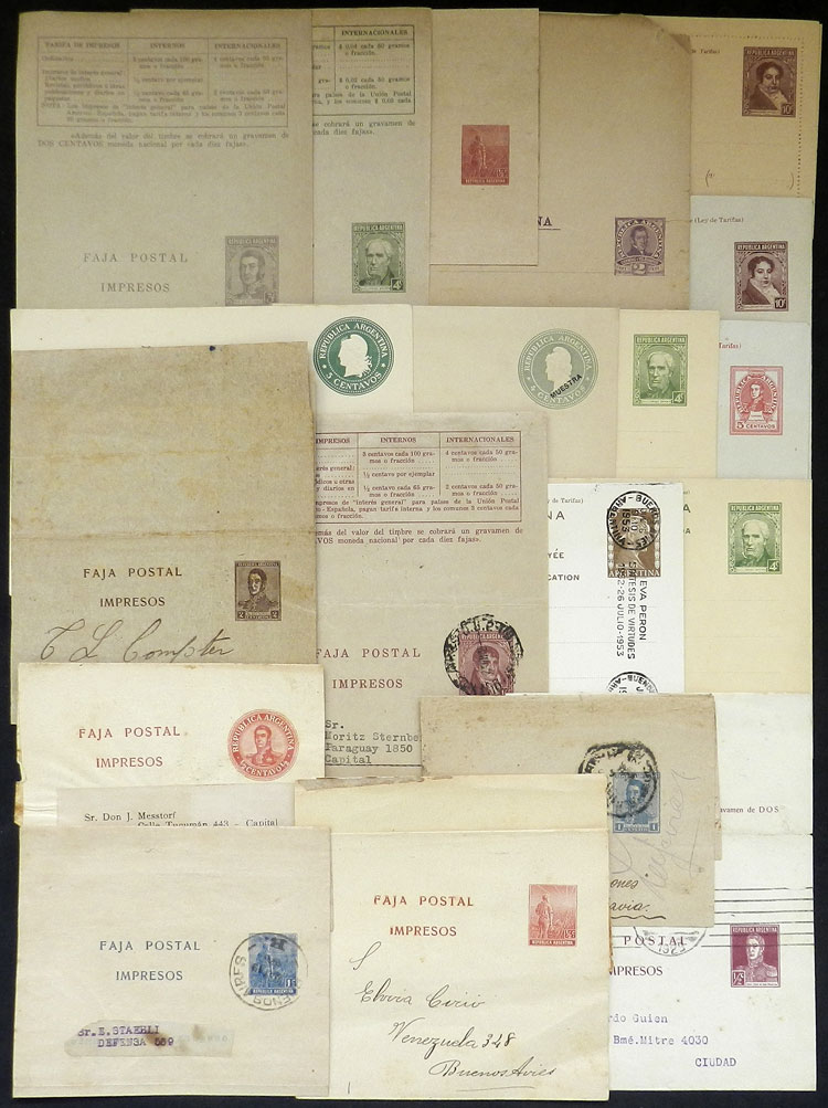 Lot 2046 - Argentina Postal stationery -  Guillermo Jalil - Philatino Auction # 2128 ARGENTINA: 'Clearance' auction with very low starts and many interesting lots!