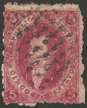 Lot 203 - Argentina rivadavias -  Guillermo Jalil - Philatino Auction # 2128 ARGENTINA: 'Clearance' auction with very low starts and many interesting lots!