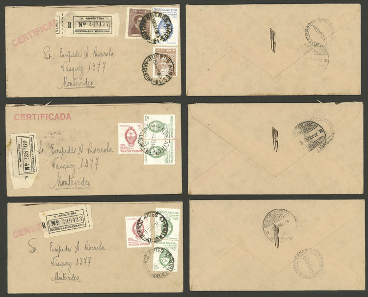 Lot 2082 - Argentina postal history -  Guillermo Jalil - Philatino Auction # 2128 ARGENTINA: 'Clearance' auction with very low starts and many interesting lots!