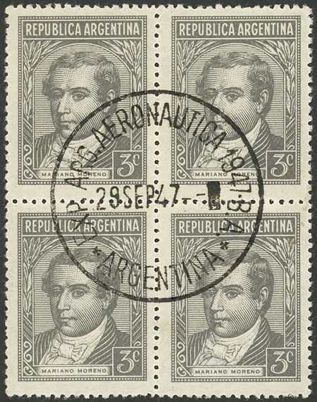 Lot 853 - Argentina general issues -  Guillermo Jalil - Philatino Auction # 2128 ARGENTINA: 'Clearance' auction with very low starts and many interesting lots!