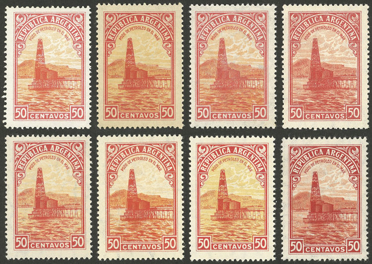 Lot 650 - Argentina general issues -  Guillermo Jalil - Philatino Auction # 2128 ARGENTINA: 'Clearance' auction with very low starts and many interesting lots!
