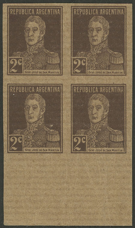 Lot 521 - Argentina general issues -  Guillermo Jalil - Philatino Auction # 2128 ARGENTINA: 'Clearance' auction with very low starts and many interesting lots!