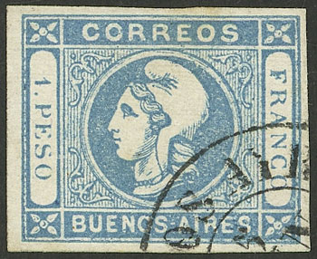 Lot 62 - Argentina cabecitas -  Guillermo Jalil - Philatino Auction # 2128 ARGENTINA: 'Clearance' auction with very low starts and many interesting lots!