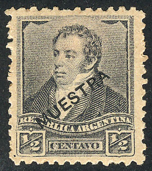 Lot 347 - Argentina general issues -  Guillermo Jalil - Philatino Auction # 2128 ARGENTINA: 'Clearance' auction with very low starts and many interesting lots!