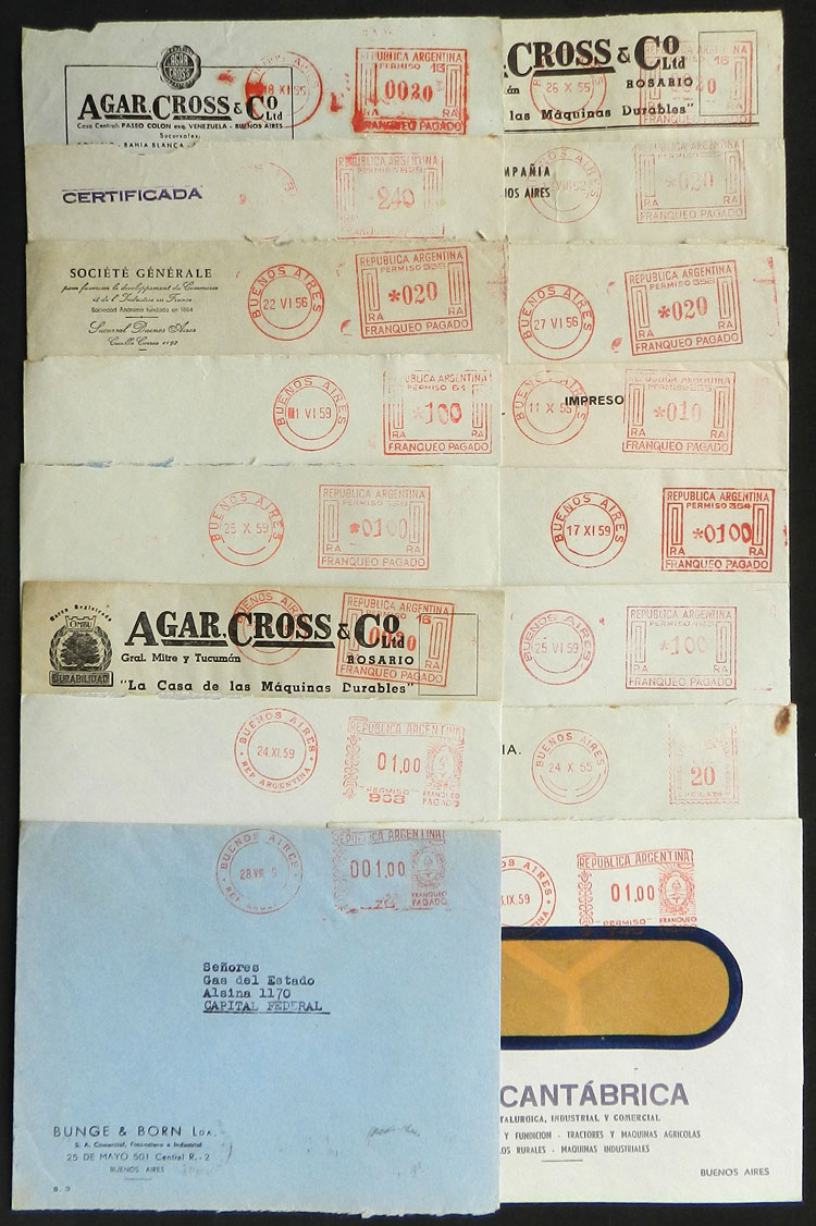 Lot 2205 - Argentina postal history -  Guillermo Jalil - Philatino Auction # 2128 ARGENTINA: 'Clearance' auction with very low starts and many interesting lots!