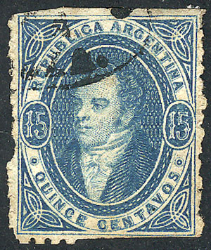 Lot 163 - Argentina rivadavias -  Guillermo Jalil - Philatino Auction # 2128 ARGENTINA: 'Clearance' auction with very low starts and many interesting lots!