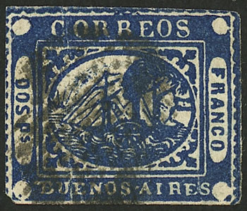 Lot 4 - Argentina barquitos -  Guillermo Jalil - Philatino Auction # 2129 ARGENTINA: August special auction