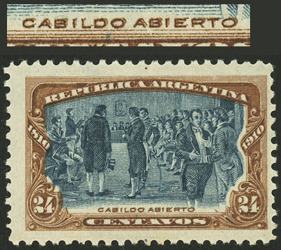 Lot 100 - Argentina general issues -  Guillermo Jalil - Philatino Auction # 2129