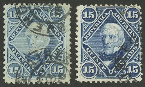 Lot 91 - Argentina general issues -  Guillermo Jalil - Philatino Auction # 2130 ARGENTINA: