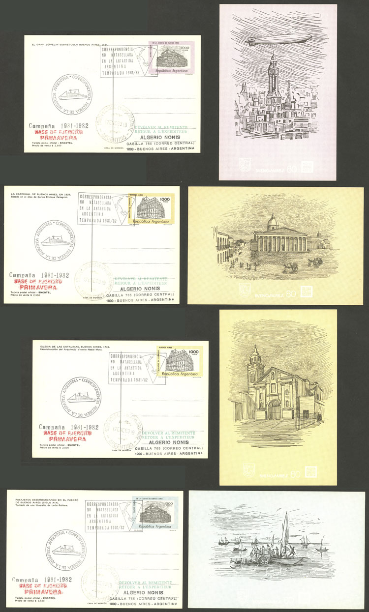Lot 2 - argentine antarctica postal history -  Guillermo Jalil - Philatino Auction # 2130 ARGENTINA: