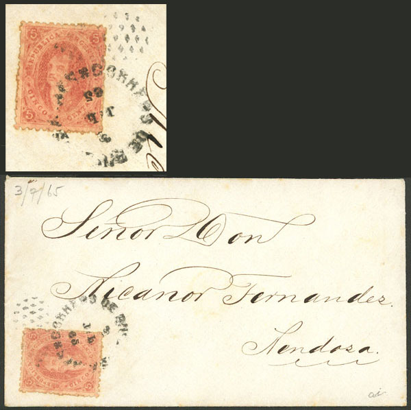 Lot 42 - Argentina rivadavias -  Guillermo Jalil - Philatino Auction # 2130 ARGENTINA: