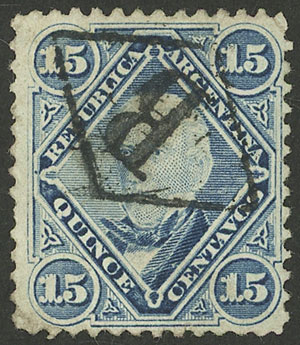 Lot 96 - Argentina general issues -  Guillermo Jalil - Philatino Auction # 2130 ARGENTINA: