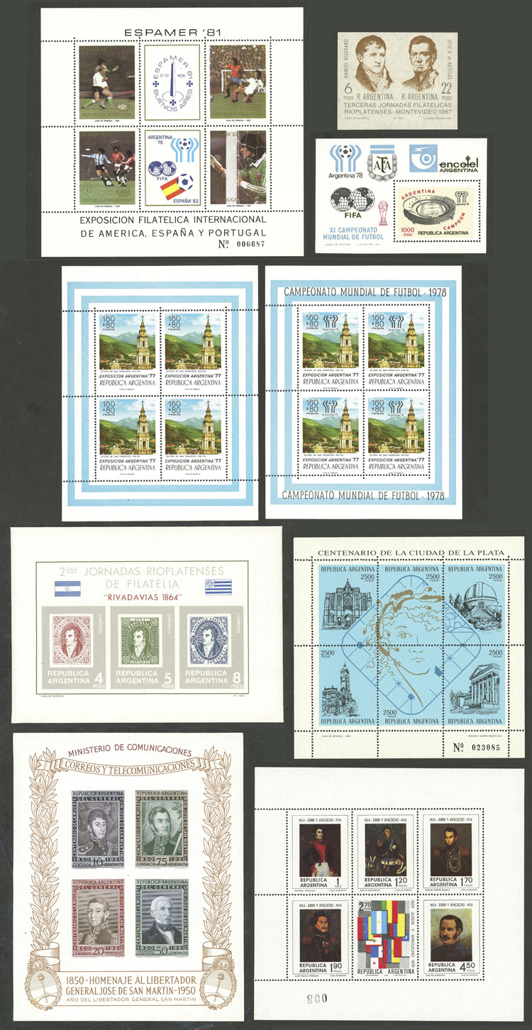 Lot 1007 - Argentina Lots and Collections -  Guillermo Jalil - Philatino Auction # 2130 ARGENTINA: