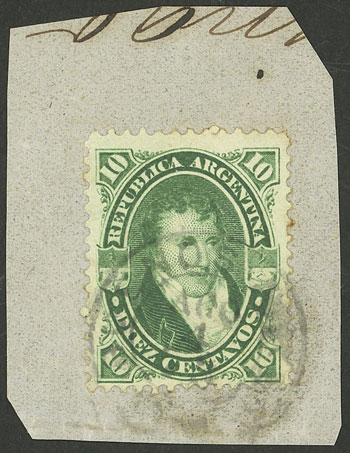 Lot 85 - Argentina general issues -  Guillermo Jalil - Philatino Auction # 2130 ARGENTINA: