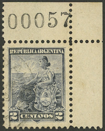 Lot 269 - Argentina general issues -  Guillermo Jalil - Philatino Auction # 2130 ARGENTINA: