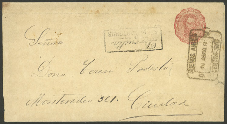 Lot 916 - Argentina Postal stationery -  Guillermo Jalil - Philatino Auction # 2130 ARGENTINA: