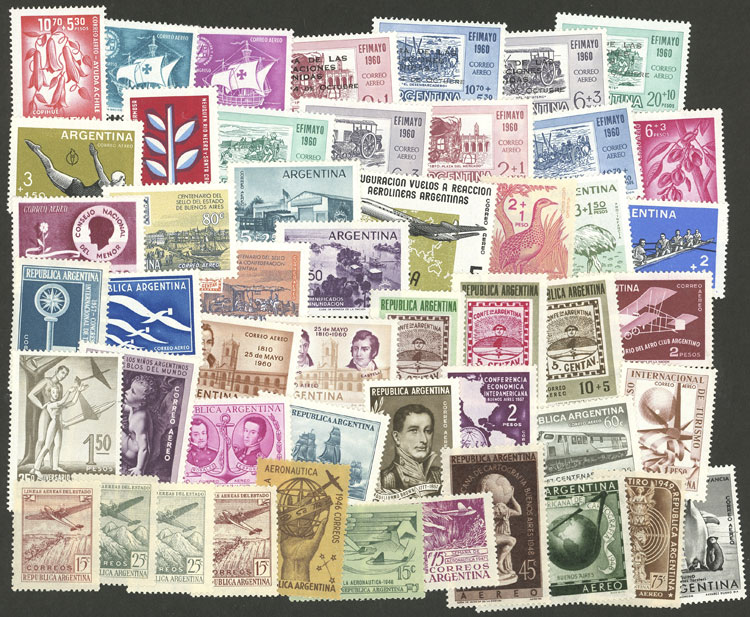 Lot 1005 - Argentina Lots and Collections -  Guillermo Jalil - Philatino Auction # 2130 ARGENTINA: