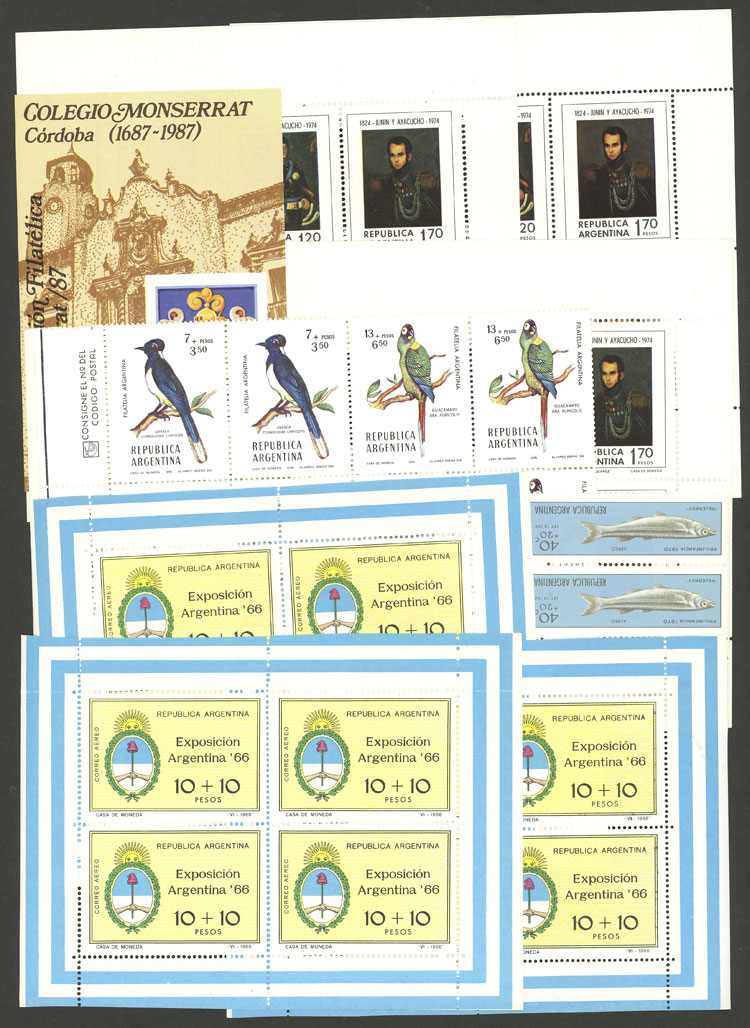 Lot 1011 - Argentina Lots and Collections -  Guillermo Jalil - Philatino Auction # 2130 ARGENTINA: