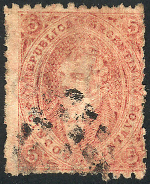 Lot 43 - Argentina rivadavias -  Guillermo Jalil - Philatino Auction # 2130 ARGENTINA: